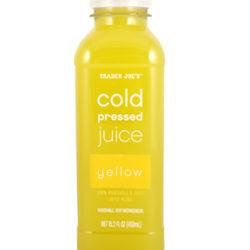 Trader Joe's Cold Pressed Yellow Juice