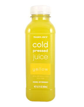 Trader Joe's Cold Pressed Yellow Juice