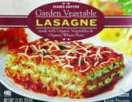 Trader Joe's Garden Vegetable Lasagne