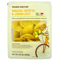 Trader Joe's Girasoli Ricotta & Lemon Zest Pasta
