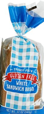 Trader Joe's Gluten-Free White Sandwich Bread
