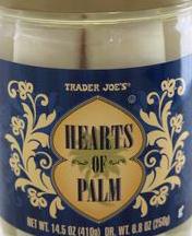 Trader Joe's Hearts of Palm