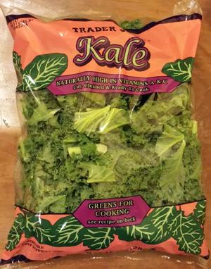 Trader Joe's Bagged Kale