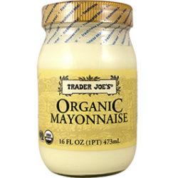 Trader Joe's Organic Mayonnaise