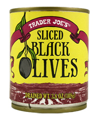 Trader Joe's Sliced Black Olives