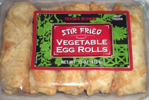 Trader Joe's Stir Fried Vegetable Egg Rolls