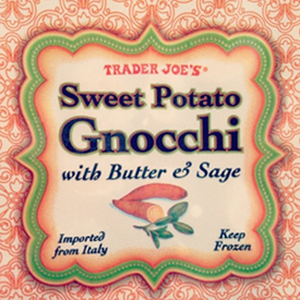 Trader Joe's Sweet Potato Gnocchi