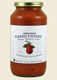 Trader Joe's Three Cheese Pomodoro Pasta Sauce