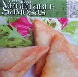 Trader Joe's Vegetable Samosas