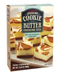 Trader Joe's Cookie Butter Cheesecake Bites