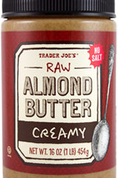 Trader Joe's Creamy Raw Almond Butter