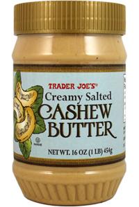 Trader Joe's Creamy Salted Cashew Butter