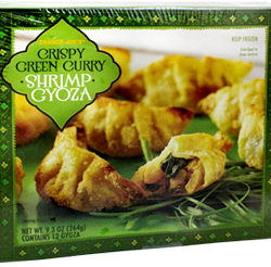 Trader Joe's Crispy Green Curry Shrimp Gyoza