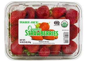 Trader Joe's Organic Strawberries