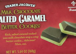 Trader Joe's Milk Chocolate Salted Caramel Butter Cookies
