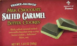 Trader Joe's Milk Chocolate Salted Caramel Butter Cookies
