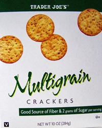 Trader Joe's Multigrain Crackers