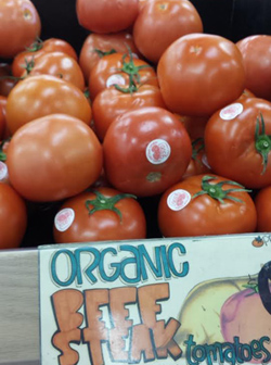 Trader Joe's Organic Beef Steak Tomatoes