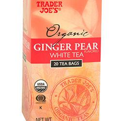 Trader Joe's Organic Ginger Pear White Tea