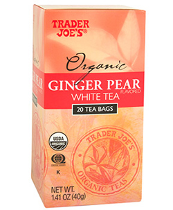Trader Joe's Organic Ginger Pear White Tea
