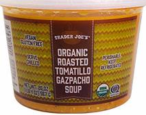 Trader Joe's Organic Roasted Tomatillo Gazpacho
