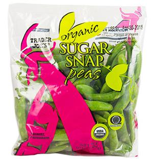 Trader Joe's Organic Sugar Snap Peas