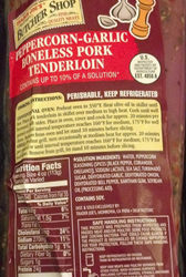 Trader Joe's Peppercorn-Garlic Pork Tenderloin