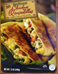 Trader Joe's Southwest Chicken Quesadillas