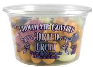 Trader Joe's Chocolate Covered Dried Fruit