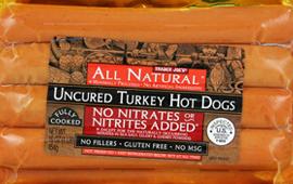 Trader Joe's Uncured Turkey Hot Dogs