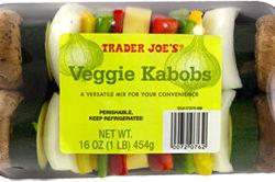 Trader Joe's Veggie Kabobs
