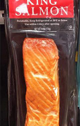 Trader Joe's Wild Hot Smoked King Salmon