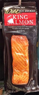 Trader Joe's Wild Hot Smoked King Salmon
