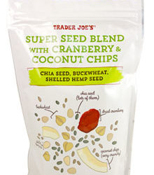 Trader Joe's Super Seed Blend with Cranberry & Coconut Chips