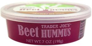 Trader Joe's Beet Hummus