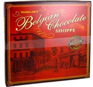 Trader Joe's Belgian Chocolate Shoppe