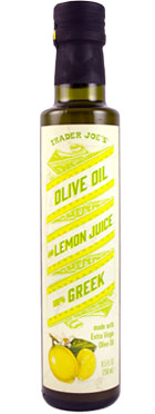 Trader Joe's Greek Olive Oil with Lemon Juice