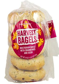 Trader Joe's Harvest Bagels