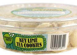 Key Lime Tea Cookies