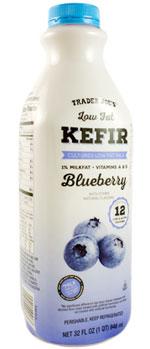 Trader Joe's Low Fat Blueberry Kefir