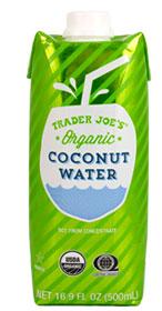 Trader Joe's Organic Coconut Water