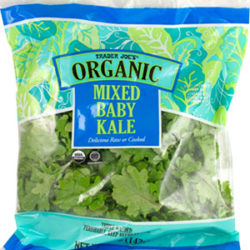 Trader Joe's Organic Mixed Baby Kale