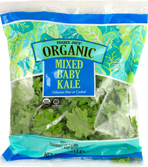 Trader Joe's Organic Mixed Baby Kale