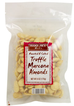 Trader Joe's Roasted & Salted Truffle Marcona Almonds