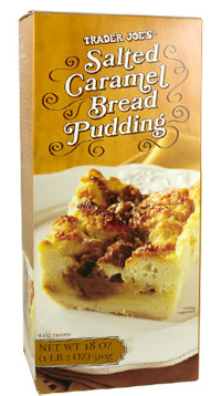 Trader Joe's Salted Caramel Bread Pudding