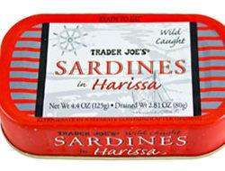 Trader Joe's Sardines in Harissa