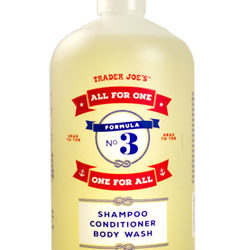 Trader Joe's All For One, One For All Shampoo, Conditioner, and Body Wash