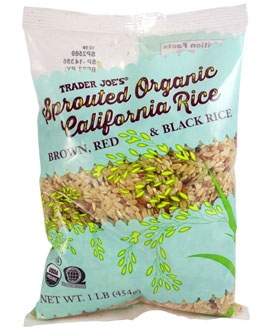 Trader Joe's Sprouted Organic California Rice