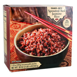 Trader Joe's Sprouted Red Jasmine Rice