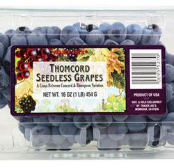 Trader Joe's Thomcord Seedless Grapes